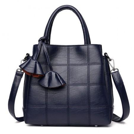 Genuine leather shoulder crossbody bag