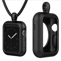 Apple Watch 1/2/3 series siliconen case cover ketting