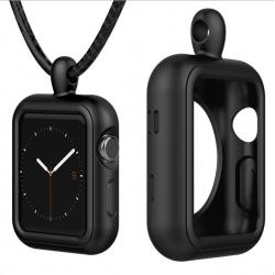 Apple Watch 1/2/3 series Silikonhülle Halskette
