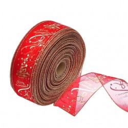 Christmas tree decoration ribbon 200cm