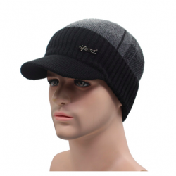 Men's winter hat wool