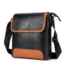 Genuine leather shoulder & crossbody bag