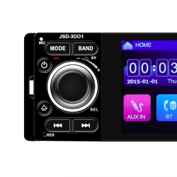 1 din 12V 4 1 inch touch screen USB AUX Bluetooth rear view camera stereo  car radio