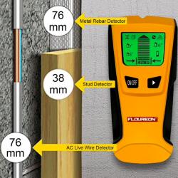 3 w 1 wykrywacz środka detektor metalu & przewodów elektrycznych kabli AC
