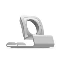 Metalowa stacja dokująca do ładowania - podstawa do zegarka Apple Watch 4/3/2/1 - uchwyt