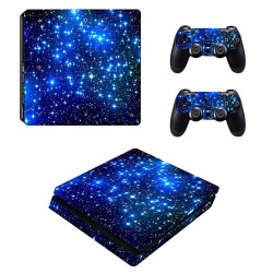 Playstation 4 Slim - PS4 Skin Cover Aufkleber Set
