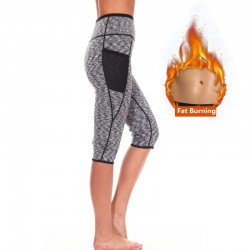Leggings effect sauna shaper de neoprene