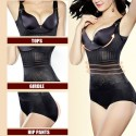 Body shaper suit slimming corset