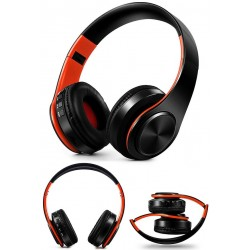 Set cuffie pieghevoli con microfono Tourya B7 Bluetooth wireless