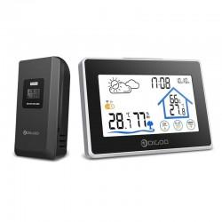 DG-TH8380 bezprzewodowy termometr z ekranem dotykowym wewnątrz / na zewnątrz