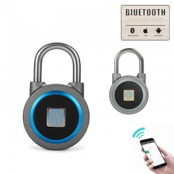 Smart keyless entry fingerprint waterproof lock padlock for Android iOS System