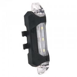 Luce posteriore di sicurezza per bicicletta ricaricabile USB