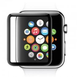 5D pełna osłona krawędzi osłona ekranu ze szkła hartowanego dla Apple Watch 38mm 40mm 42mm 44 mm