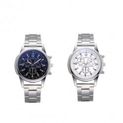 Analog quartz watch stainless steel