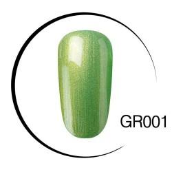 UV LED zielony soak-off lakier do paznokci - 10ml