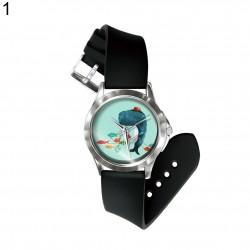 Damski & dziecięcy analogowy kwarcowy zegarek