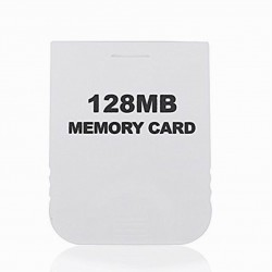 Wii 64MB Memory Card Gamecube
