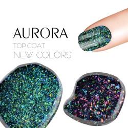 Top coat UV hybrydowy żel do paznokci lakier 5 ml
