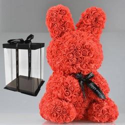 Konijn van infinity rozen 45 cm