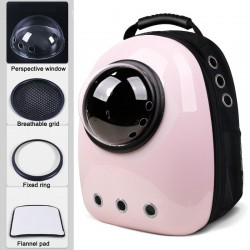 Travel capsule breathable carrying backpack for dog & cat & pets
