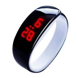 Sportowa cyfrowa bransoletka LED zegarek unisex