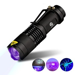 UV lamp light torch for fake money - marker checking detection