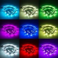 1M / 2M / 3M RGB 5050SMD LED-TV achtergrondverlichting strip - USB-aansluiting - afstandsbediening