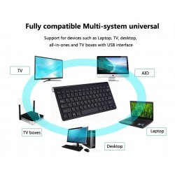 Wireless keyboard with mouse / USB receiver 2.4G