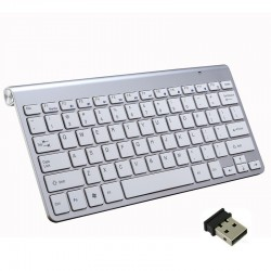 2.4G wireless keyboard with mouse / USB receiver