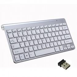 Kabellose Tastatur mit Maus / USB-Empfänger 2.4G