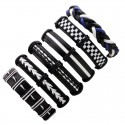 Multilayer leather punk bracelet - unisex