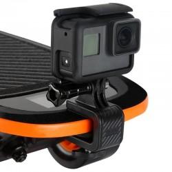 Skateboard motorfietsstuur - geroteerde klemmontage - beugelhouder voor GoPro Hero Action