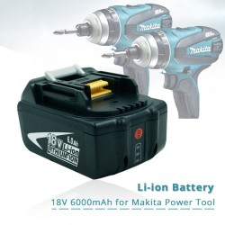 Akumulator bateria 18V 6.0 Ah z LED dla Makity - zamiennik