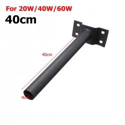 40cm - 50cm - muurbevestigingspaal - voor straatlantaarn