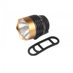 Q5 LED - 3 modalità - lampada frontale bici - impermeabile - batteria integrata