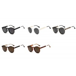 Retro round sunglasses - unisex