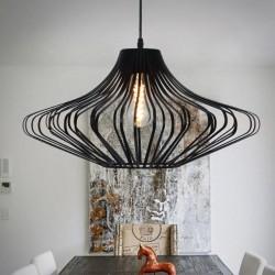 Vintage Edison light - lampa aluminiowa