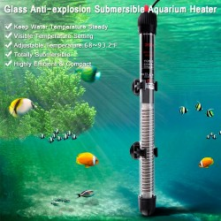 Adjustable aquarium water heater 25W - 50W - 100W - 200W - 300W