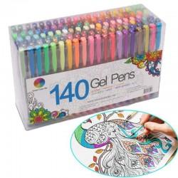 Fluorescencyjne - kolorowe - długopisy żelowe