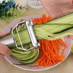Multifunction stainless steel vegetable peeler