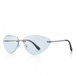 Cat eye - rimless...
