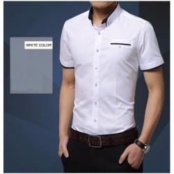 Short sleeves elegant shirt