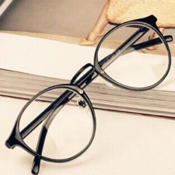 Okulary z przezroczystymi...
