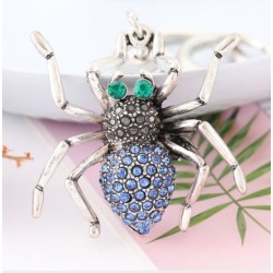 Crystal scorpion - keychain