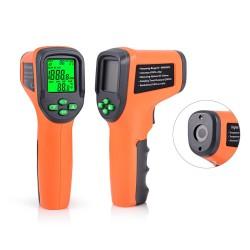 FOSHIO 10-99999 RPM - Tachymètre laser numérique - Tachymètre photoélectrique de voiture sans contact