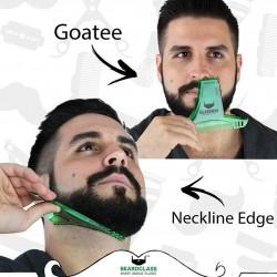 BellyLady Bart Gestaltung Styling Vorlage Bart Kamm Mnner Rasieren Werkzeuge fr Haar Bart Trim Vor