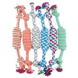 Coton os et corde - jouet pour chien 27cm