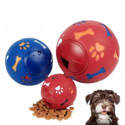 Interaktywna zabawka edukacyjna dla psa - gumowa piłka