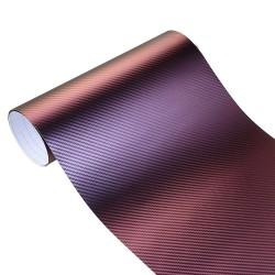 3D Carbon Fiber Vinyl Wrap - Sticker 10 * 100cm