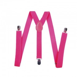 15 Colors Unisex Men Women Child Kids Clip-on Suspenders Elastic Y-Shape Adjustable Braces